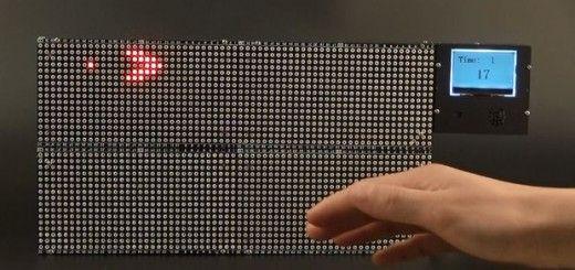 pacmanarduino 520x245 - Juega a Pac-Man mediante gestos con Arduino