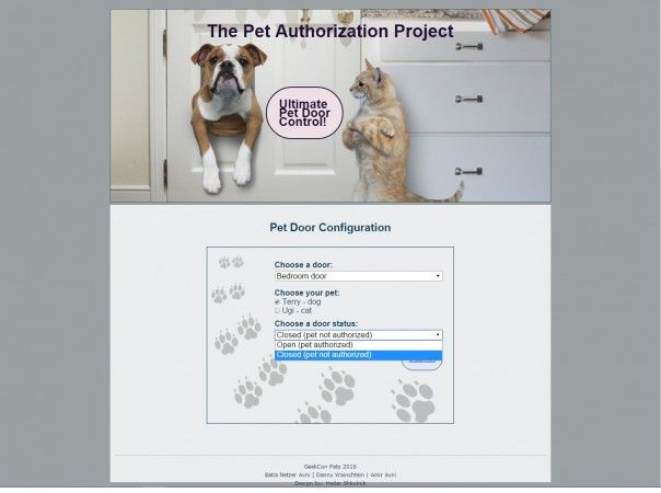 puerta mascotas2 604x450 - Puerta automatizada para mascotas con Arduino