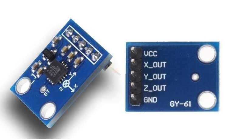 Acelerómetro ADXL335 con Arduino Uno