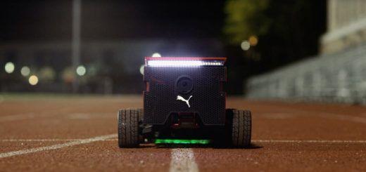 beatbotPUMA 520x245 - Beatbot, el robot de PUMA con Arduino y más rápido que Usain Bolt