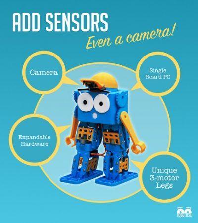 marty 400x450 - Marty, un simpático robot para niños, profesores y makers