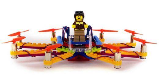 flybrix 520x245 - Flybrix, fabrica tu propio drone con piezas de LEGO