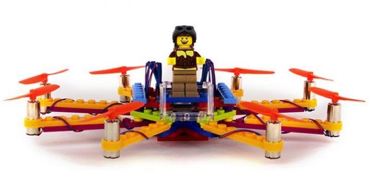 flybrix 720x340 - Flybrix, fabrica tu propio drone con piezas de LEGO