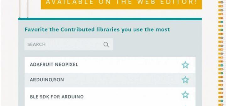 arduinowebeditor 720x340 - Arduino Library Manager ya está disponible a través de Online Web Editor