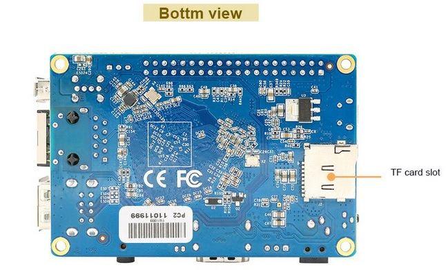 orangepipc2bottom - Orange Pi PC 2, la nueva versión del mini PC de 20 dólares.