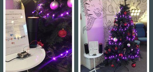 arbol navidad arduino 520x245 - Controla las luces de tu árbol de navidad con la voz y Alexa