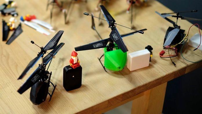 droiko1 - Droiko, un pequeño drone de código abierto para jugar