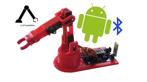 LittleArm 2C - LittleArm 2C, un mini brazo robot para educación y para makers