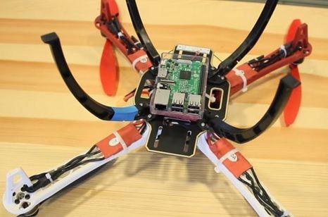 construye un drone1 - Construye un drone con streaming de vídeo con tu Raspberry Pi