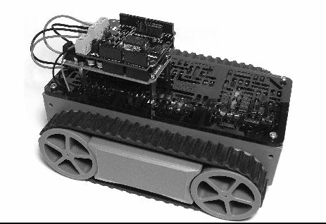 Tank Robot 1 - Robot con Arduino aprende a construir y controlar un tanque robot