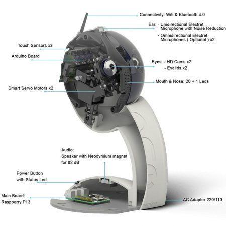 qbot 450x450 - Q.bo, un Robot Interactivo de Código Abierto con Raspberry Pi y Arduino