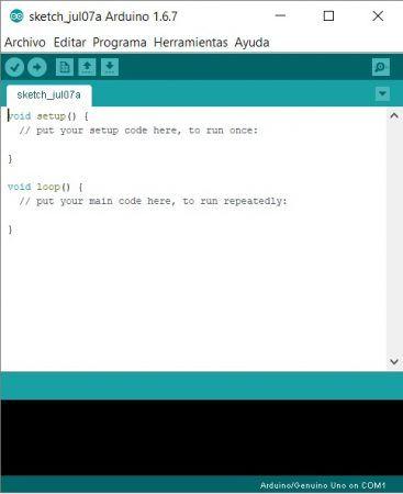 arduino ide 367x450 - Cómo aprender robótica con Arduino y no morir en el intento