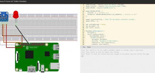 raspberry pi simulator 520x245 - Raspberry Pi Online Simulator, disponible también en Azure de Microsoft