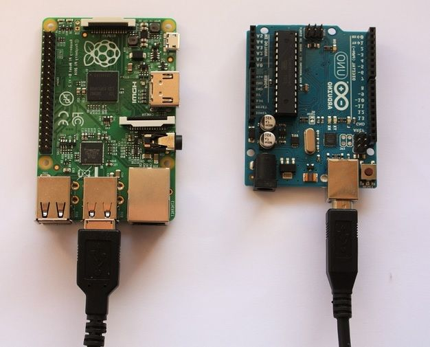 Cómo conectar un arduino a una raspberry pi por