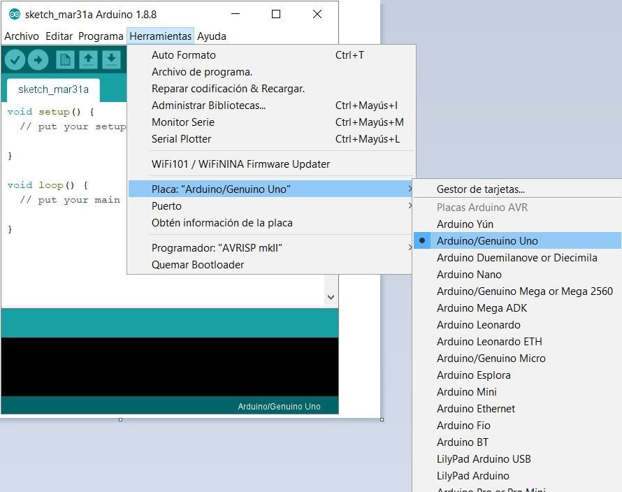 elegir arduino uno en IDE - Cómo descargar e instalar Arduino y el IDE en nuestro ordenador