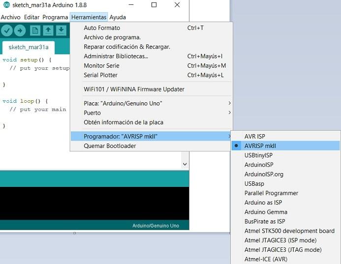 programador AVR ISP mk2 - Cómo descargar e instalar Arduino y el IDE en nuestro ordenador