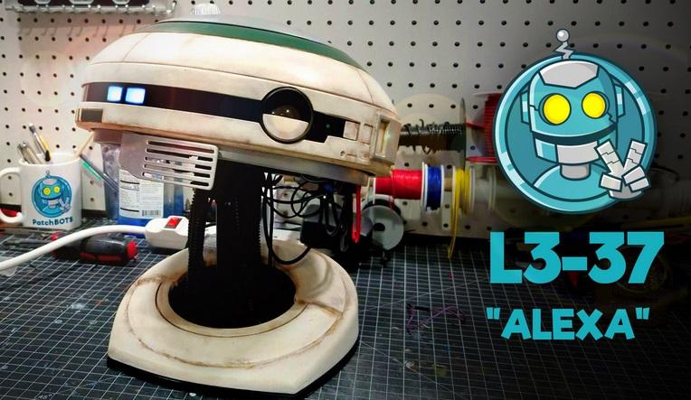 L3 37 - Construye tu propio robot L3-37 completo con interacción de voz