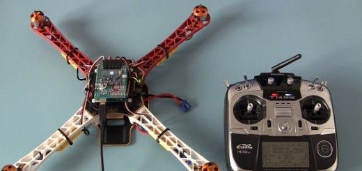 Un drone construido con Arduino