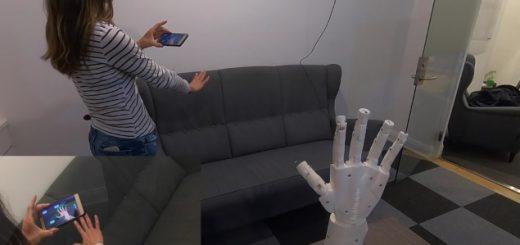 manomation 520x245 - Una mano de control robótica  con ManoMotion