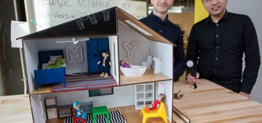 casa de muñecas inteligente