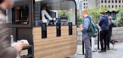 robot camarero cafe 520x245 - Estos cafés de San Francisco son servidos por robots barmans