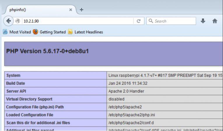 instalacion apache raspberry pi 765x450 - Cómo alojar un sitio web de WordPress en Raspberry Pi