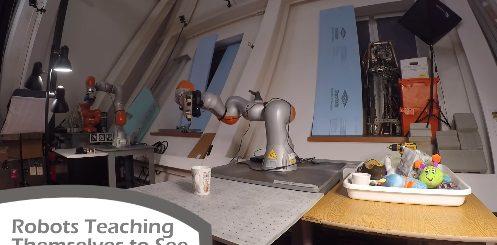 Mira Cómo Estos Robots se Enseñan a sí Mismos a Ver 497x245 - Mira Cómo Estos Robots se Enseñan a sí Mismos a Ver