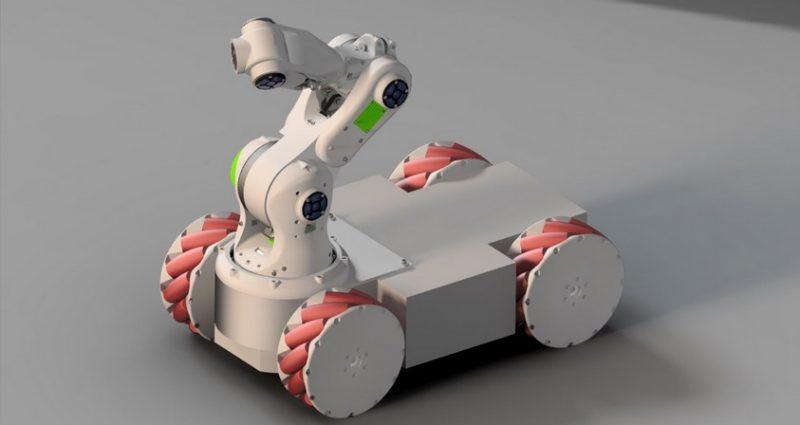 Brazo robot imprimible en 3D 800x425 - 10 Mejores Brazos Robóticos para imprimir en 3D tu mismo o comprar