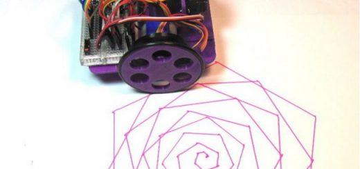 Cómo construir un Robot de Dibujo barato y con Arduino