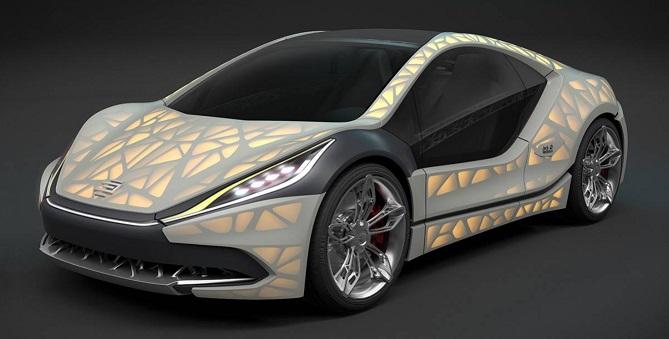EDAG Light Cocoon - 10 impresionantes coches impresos en 3D, el futuro de la industria