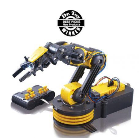 OWI Robotic Arm Edge 454x450 - 10 Mejores Brazos Robóticos para imprimir en 3D tu mismo o comprar