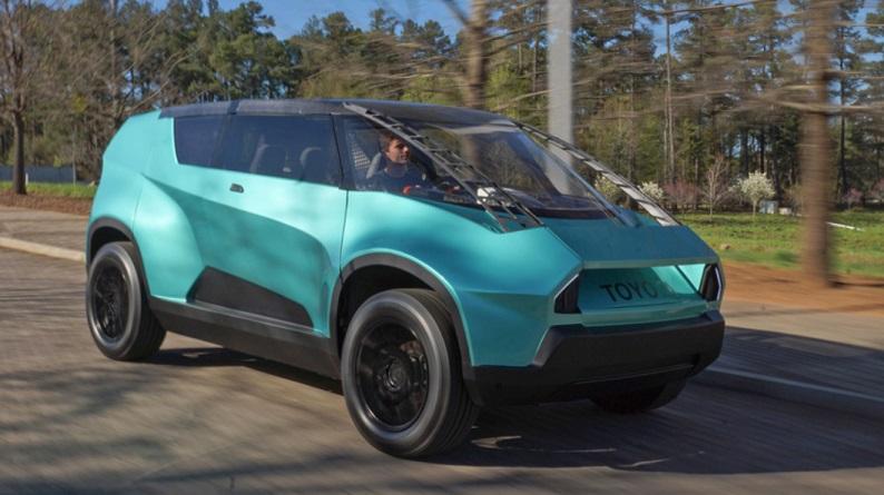 Toyota uBox - 10 impresionantes coches impresos en 3D, el futuro de la industria