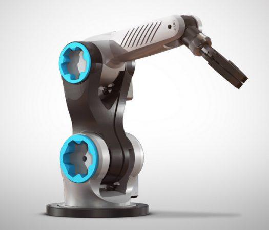 Zortrax Robotic Arm 525x450 - 10 Mejores Brazos Robóticos para imprimir en 3D tu mismo o comprar