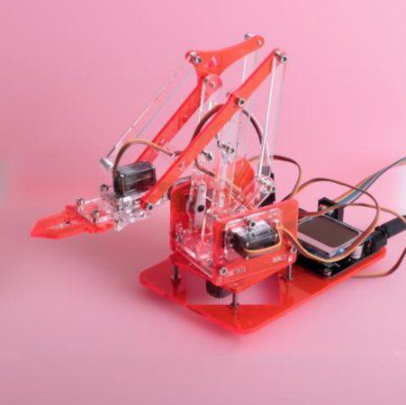 mearm 451x450 - 10 Mejores Brazos Robóticos para imprimir en 3D tu mismo o comprar
