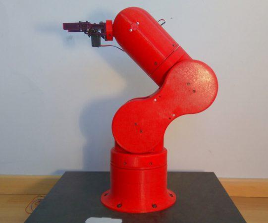 thor brazo robotico 541x450 - 10 Mejores Brazos Robóticos para imprimir en 3D tu mismo o comprar