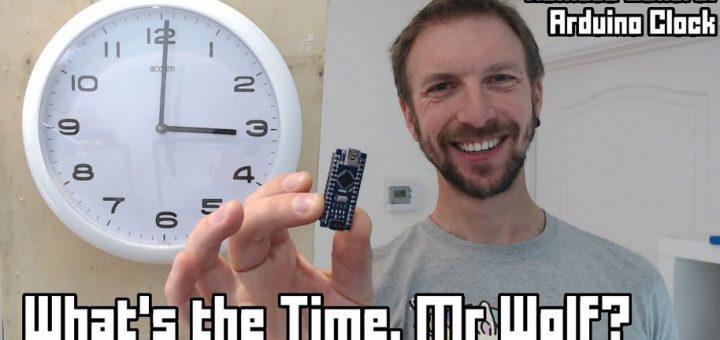 Como construir un Reloj de control remoto con Arduino