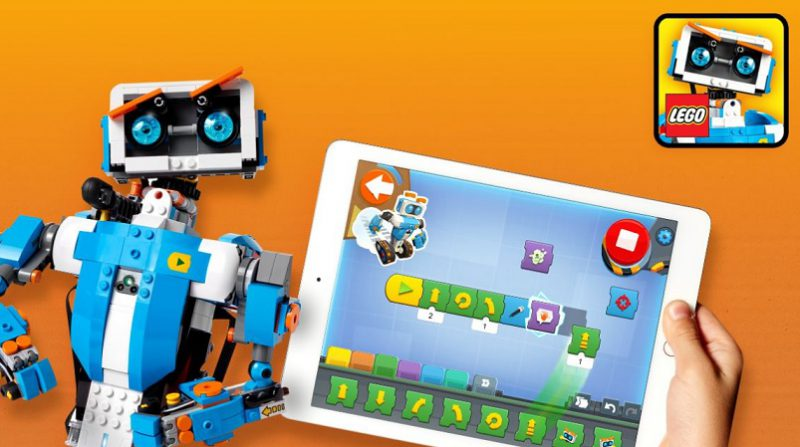 Lego Boost Creative Toolbox aplicacion 800x447 - Lego Boost Creative Toolbox, un kit perfecto para regalar a los niños