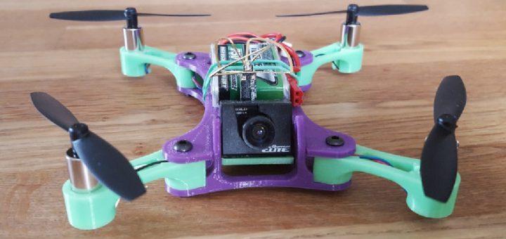 drones impresos en 3D