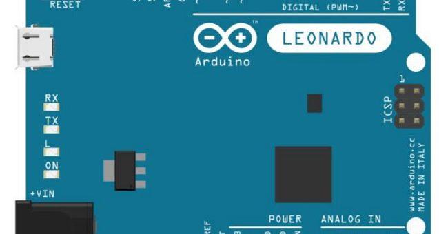 Arduino leonardo 637x340 - Arduino - Keyboard Serial