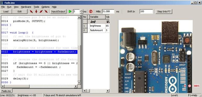 Virtronics Simulator for Arduino - Simulador Arduino, los 7 mejores para PC