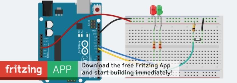 fritzing - Simulador Arduino, los 7 mejores para PC