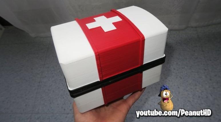 medical kit fortnite - 10 modelos gratuitos de Fortnite para imprimir en 3D