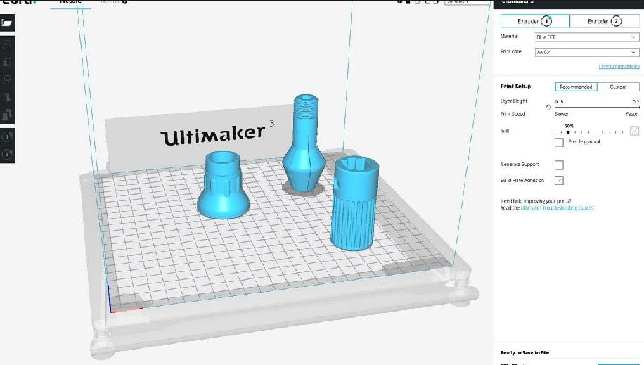Cura de ultimaker para impresión 3D - Guía de inicio a la Impresión 3D. Qué es y cómo funciona