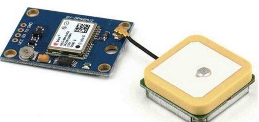 Módulo receptor GPS NEO-6M
