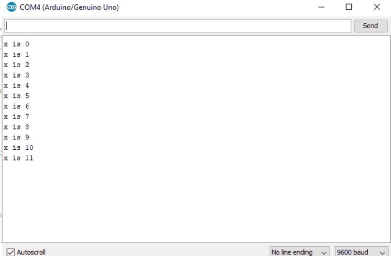 Slave's Serial Monitor Output - BUS I2C/TWI, su uso con Arduino