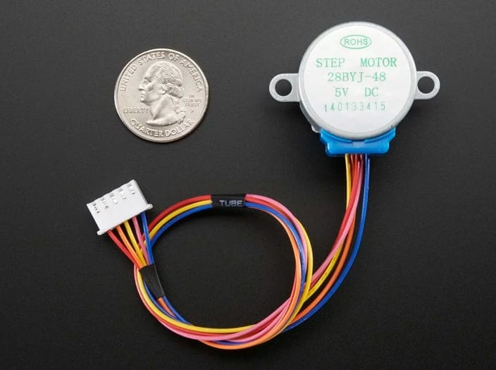 Adafruit Small Reduction Stepper Motor - Los Mejores motores paso a paso para Arduino