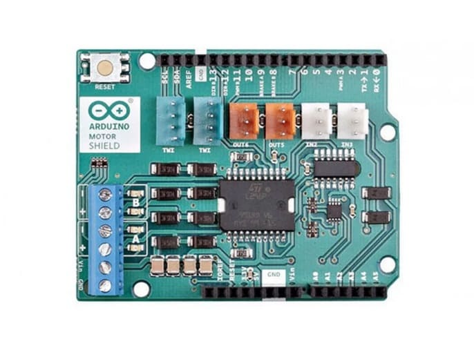 Arduino Motor Shield Rev3 - Los Mejores motores paso a paso para Arduino