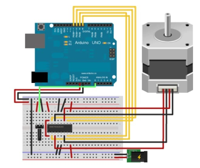 Bipolar Stepper - Los Mejores motores paso a paso para Arduino