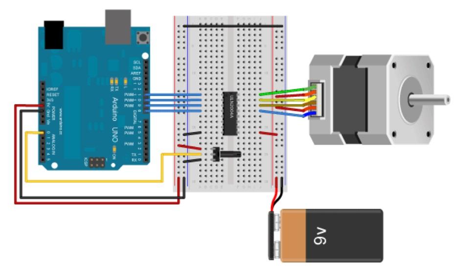 Unipolar Stepper - Los Mejores motores paso a paso para Arduino