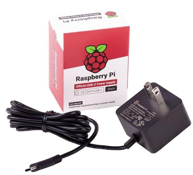el nuevo cargador de la Raspberry Pi 4 - Análisis de la Raspberry Pi 4
